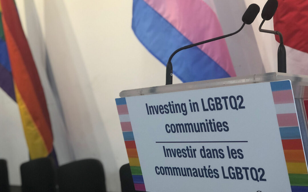 Government of Canada Launches Call for Proposals to support LGBTQ2S organizations across the country