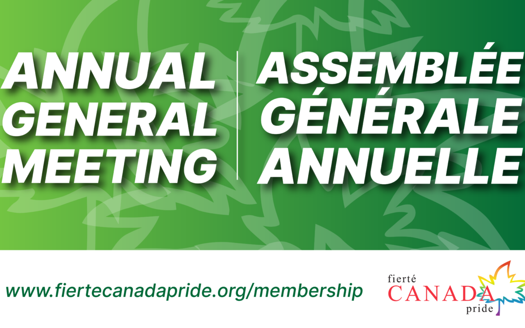 Notice of Annual General Meeting • Notification de l'assemblée générale annuelle