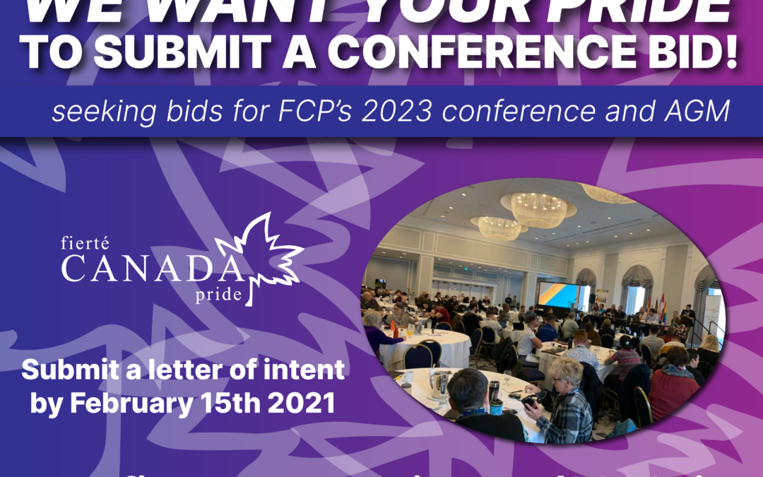 Seeking 2023 Conference & AGM Bids