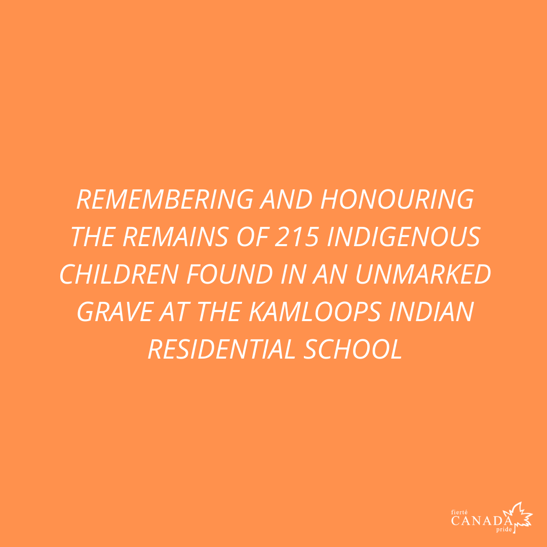 REMEMBERING AND HONORING THE 215 INDIGENOUS CHILDREN